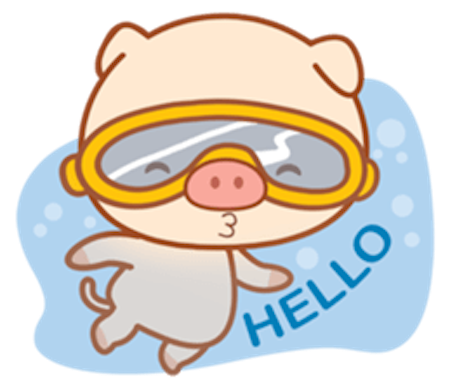 Little Pig Pinky messages sticker-10