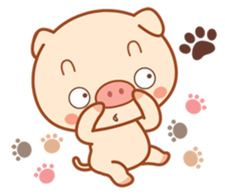 Little Pig Pinky messages sticker-1