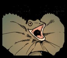 Funny Animals Laugh Emoji messages sticker-9