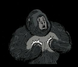 Funny Animals Laugh Emoji messages sticker-3