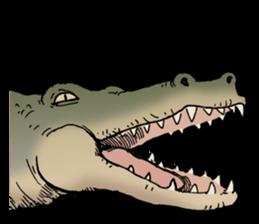 Funny Animals Laugh Emoji messages sticker-8