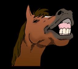 Funny Animals Laugh Emoji messages sticker-4