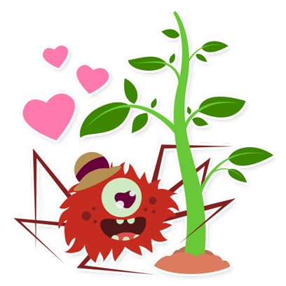 Tiny Trees Basic Stickers for iMessage messages sticker-4