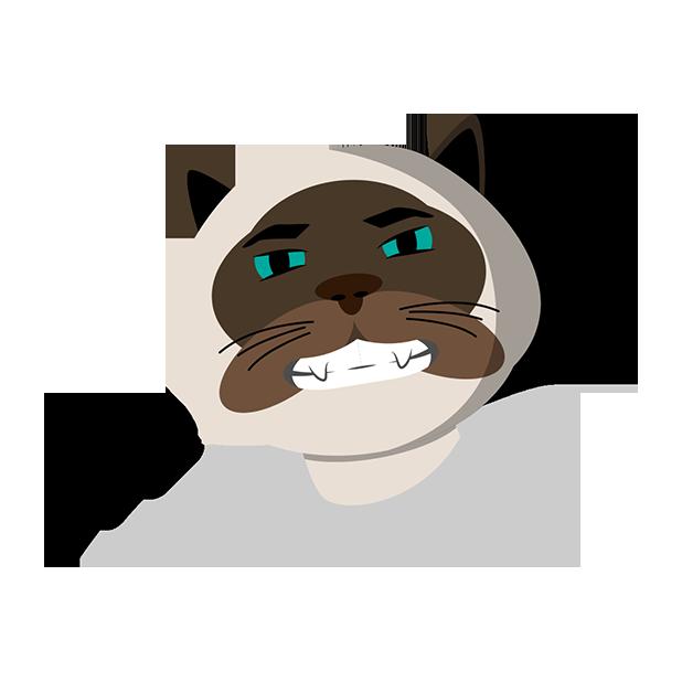 MeowMoji - Hilarious Cat Emojis & Stickers! messages sticker-5