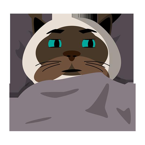 MeowMoji - Hilarious Cat Emojis & Stickers! messages sticker-8