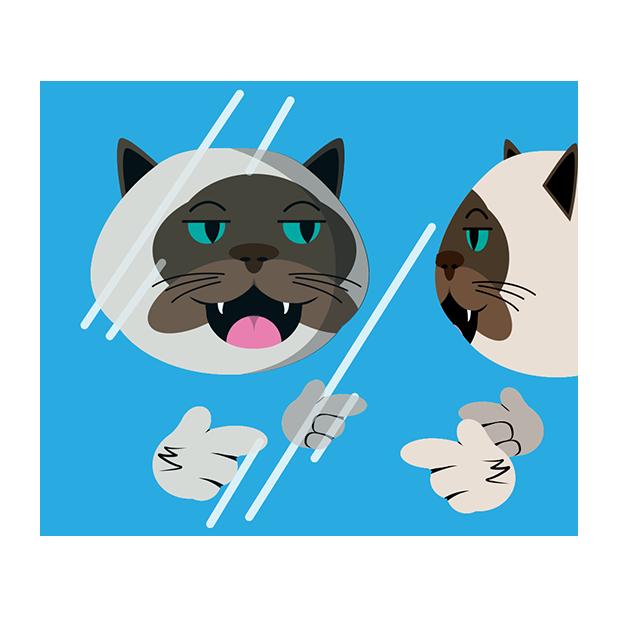 MeowMoji - Hilarious Cat Emojis & Stickers! messages sticker-4
