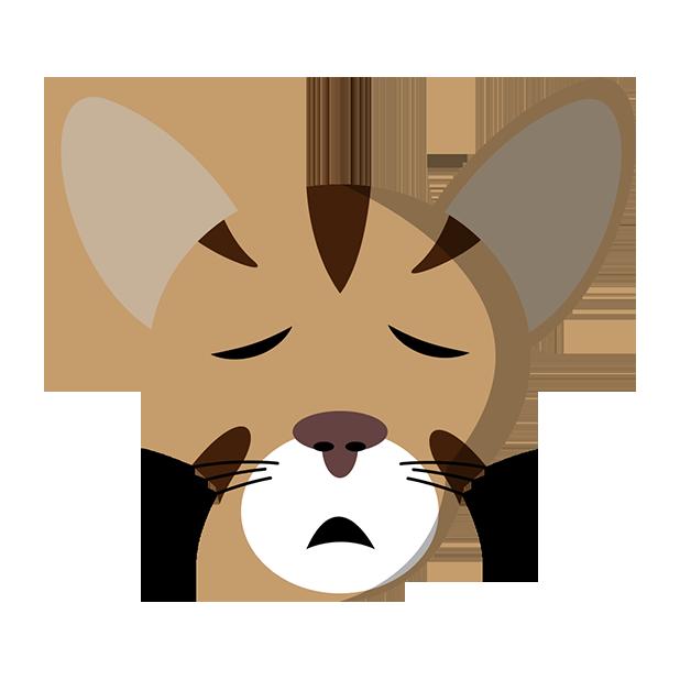 MeowMoji - Hilarious Cat Emojis & Stickers! messages sticker-10