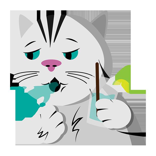 MeowMoji - Hilarious Cat Emojis & Stickers! messages sticker-7