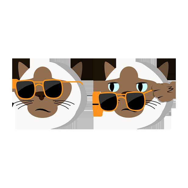 MeowMoji - Hilarious Cat Emojis & Stickers! messages sticker-1