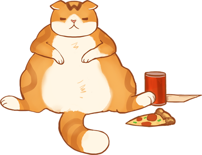 Waffles the Cat: Stickers messages sticker-1