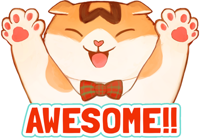 Waffles the Cat: Stickers messages sticker-0