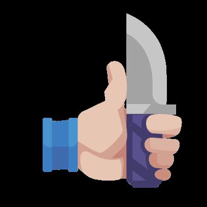 Flippy Knife messages sticker-0
