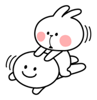 Cool Rabbit and Smile Face messages sticker-8