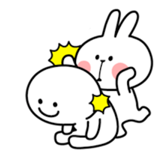 Cool Rabbit and Smile Face messages sticker-9