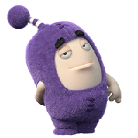 Oddbods Stickers messages sticker-8