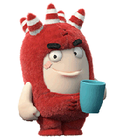 Oddbods Stickers messages sticker-0