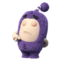 Oddbods Stickers messages sticker-7