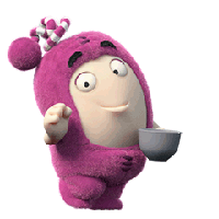 Oddbods Stickers messages sticker-1