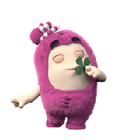 Oddbods Stickers messages sticker-9