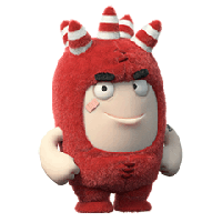 Oddbods Stickers messages sticker-6