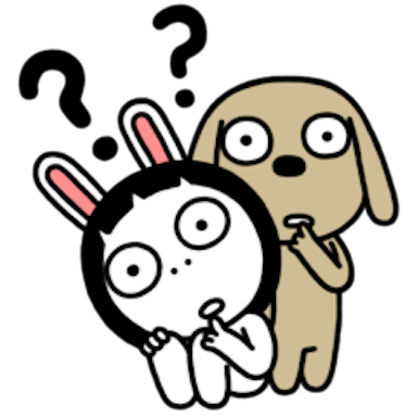 Sis Rabbit messages sticker-0