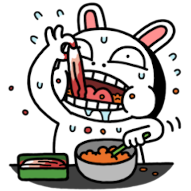 Sis Rabbit messages sticker-4