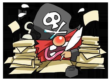 Pirate Red Beard messages sticker-7