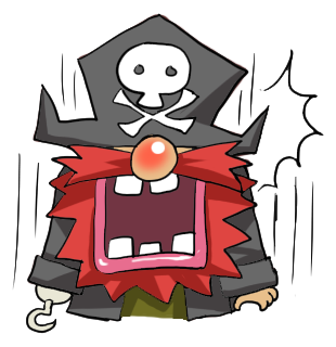 Pirate Red Beard messages sticker-3