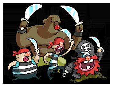 Pirate Red Beard messages sticker-5