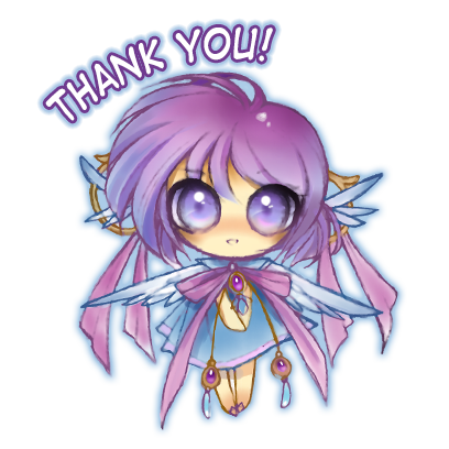 Anime Fairy Stickers messages sticker-10