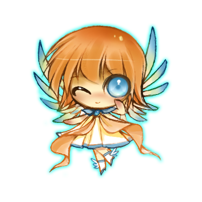 Anime Fairy Stickers messages sticker-2