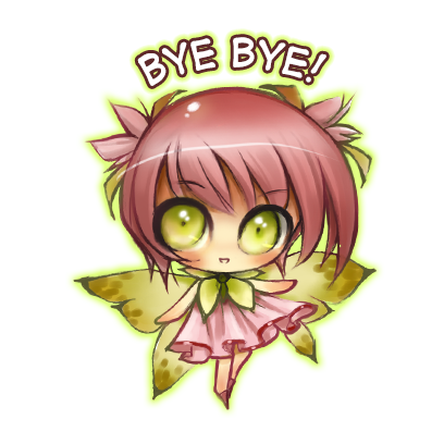 Anime Fairy Stickers messages sticker-9
