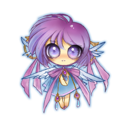 Anime Fairy Stickers messages sticker-4