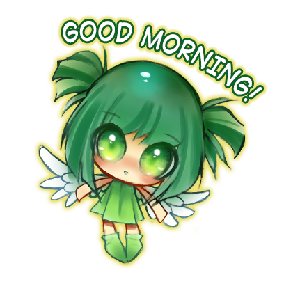 Anime Fairy Stickers messages sticker-7