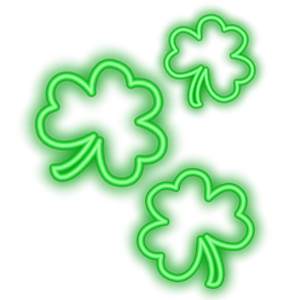 Shamrocks Plus Animated Sticker Pack for iMessage messages sticker-8