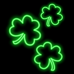Shamrocks Plus Animated Sticker Pack for iMessage messages sticker-9