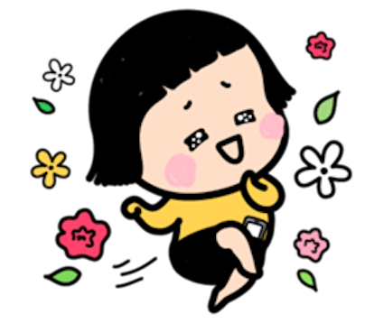 Mimi - Little Girl messages sticker-3