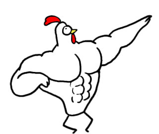 Chicken Bro messages sticker-11