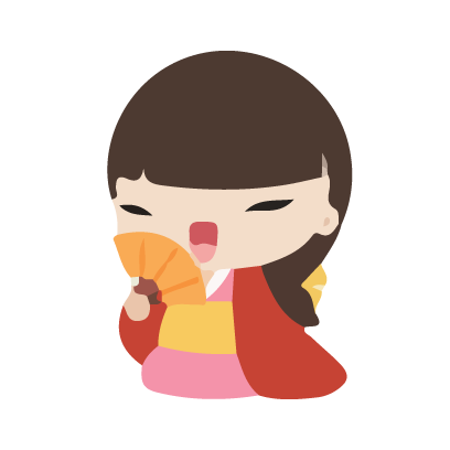 Keiko and friends messages sticker-7