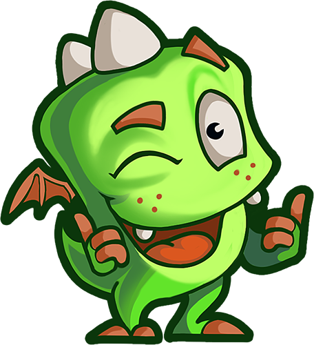 Droll Dragon - Cute stickers messages sticker-0