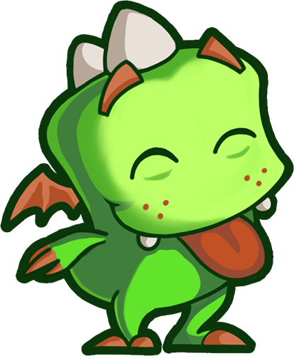 Droll Dragon - Cute stickers messages sticker-3