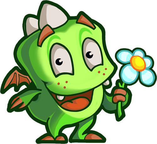 Droll Dragon - Cute stickers messages sticker-4