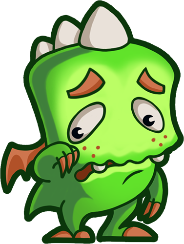 Droll Dragon - Cute stickers messages sticker-9