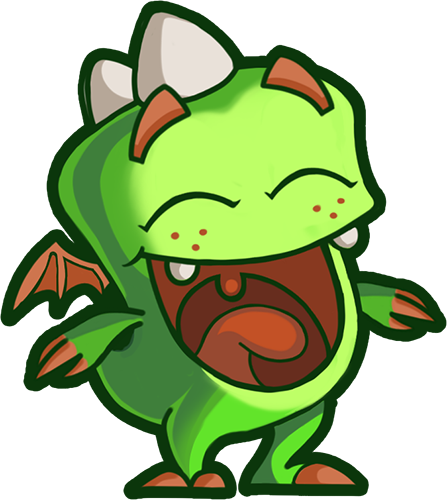 Droll Dragon - Cute stickers messages sticker-2