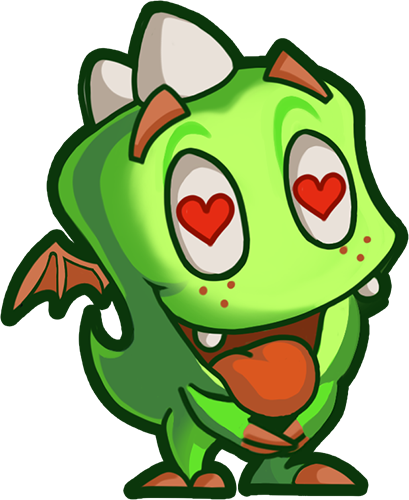 Droll Dragon - Cute stickers messages sticker-6