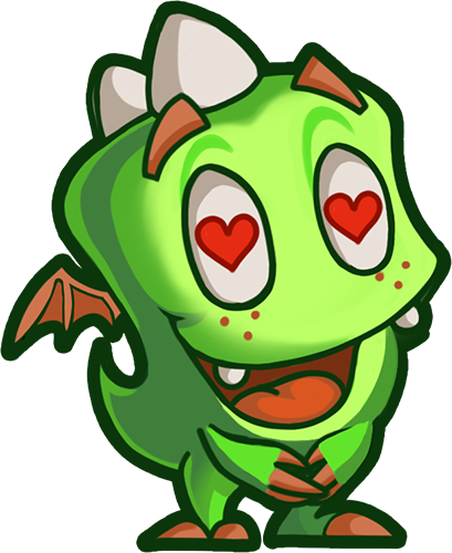 Droll Dragon - Cute stickers messages sticker-5