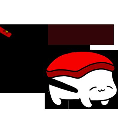 Sleeping Sushi Sticker messages sticker-2