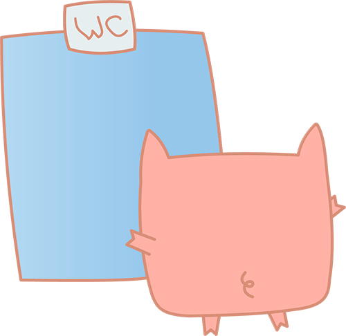 Pink Pig - Cute stickers messages sticker-11