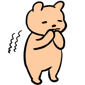 Everyday Kuma Sticker messages sticker-4