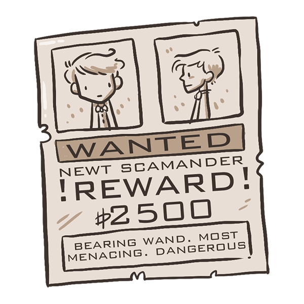 FANTASTIC BEASTS AND WHERE TO FIND THEM STICKERS messages sticker-9